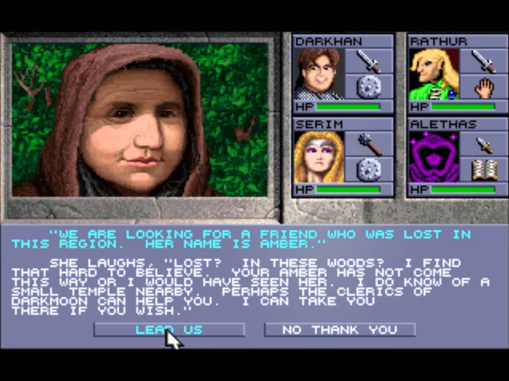 See! She's so harmless... Like... That other lady, from Lands of Lo- Oh. OH...