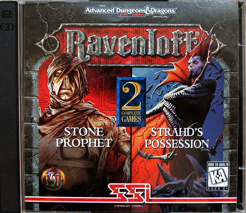 The only Ravenloft games to be made, to my knowledge.