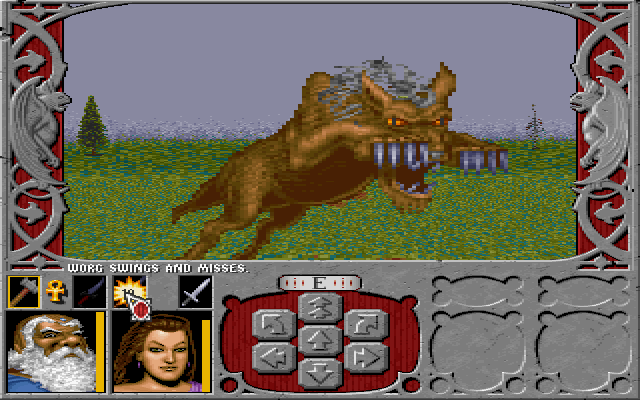 Pictured: A dull, uninteresting fight with a dull, uninteresting monster.