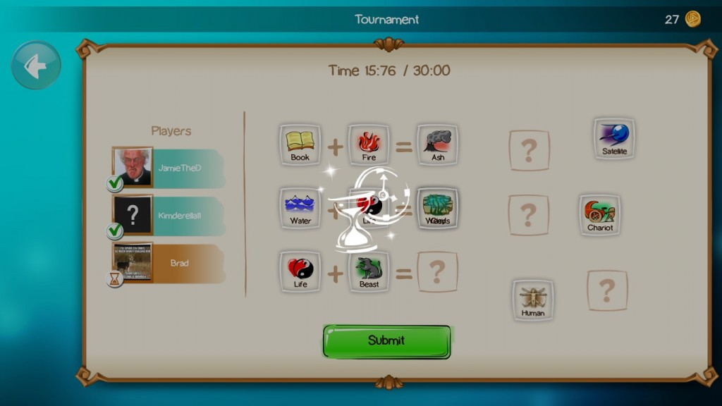 Tournament mode, it must be noted, has one somewhat annoying bug. See if you can spot it.