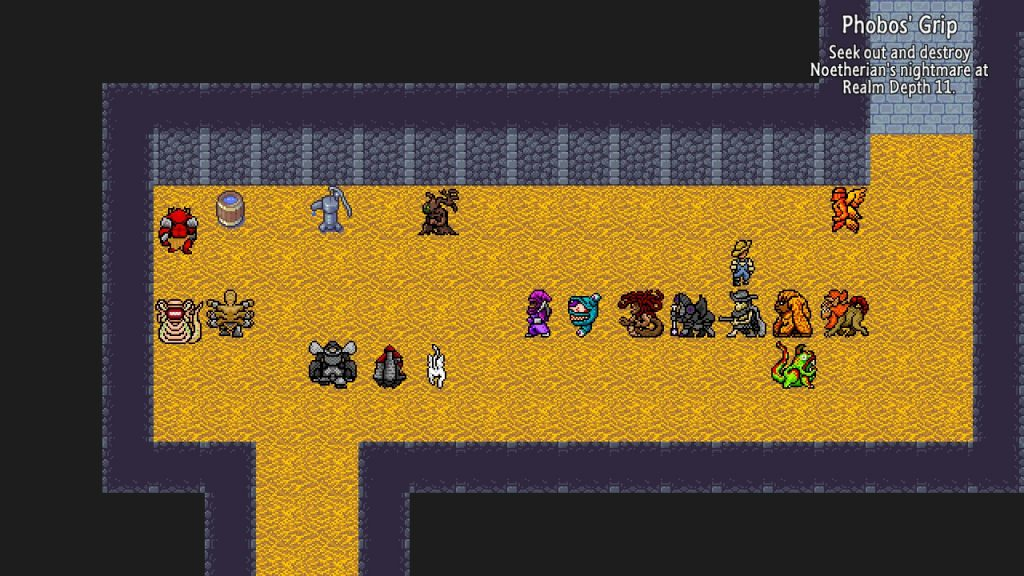 Yup, there's a lot of monsters, and this is just the beginning. Some are palette swaps, but that's RPGs all over.