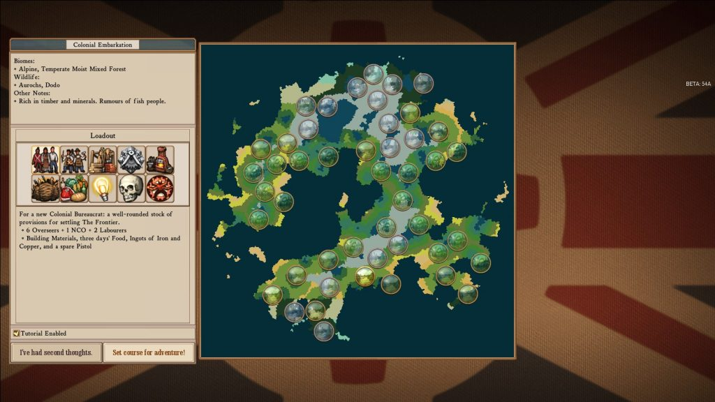 Pictured: A sensible decision - Harder biomes need you to succeed in less hard biomes.